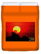 Mystic Sunset H A Duvet Cover