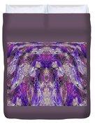 Mystic Waterfall - Purple Hues Duvet Cover