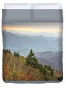 Blue Ridge Mountain 3 Duvet Cover