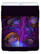 Mystical Caves Of Halyon Duvet Cover