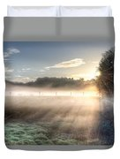 Mystical Fogs Of Florida Duvet Cover
