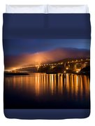 Mystical Golden Gate Bridge Duvet Cover