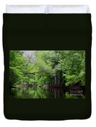 Mystical Withlacoochee River Duvet Cover