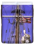 Mystic's Masts Duvet Cover