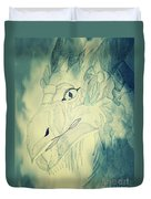 Mythical Dragon Duvet Cover