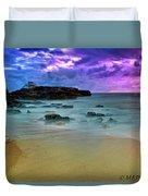 Mythical Ocean Sunset  Duvet Cover