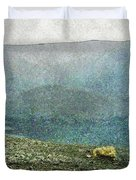 Myvatn Mooncrater Duvet Cover