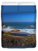 An Afternoon In San Francisco Duvet Cover