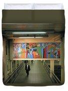 N Y C Subway Scenes # 45 Duvet Cover