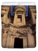 Nabataean Traders Stand In The Doorway Duvet Cover
