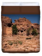 Nabatean's Village Duvet Cover