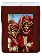 Nadine And Daniel In Red 2 Duvet Cover