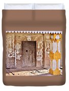 Nag Temple Doorway - Huri India Duvet Cover