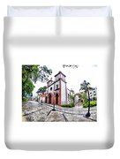 Naguanagua Church Duvet Cover