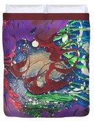 Nail Polish Abstract 15-s11 Duvet Cover