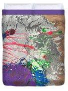 Nail Polish Abstract 15-u11 Duvet Cover