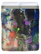 Nail Polish Abstract 15-w11 Duvet Cover