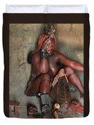 Namibia Tribe 1 Duvet Cover