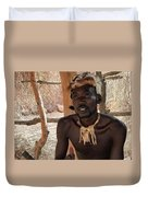 Namibia Tribe 2 - Chief Duvet Cover