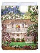 Nancy's House Duvet Cover