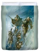 Nansen Conqueror Of The Arctic Ice Duvet Cover by James Edwin McConnell