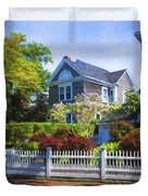 Nantucket Architecture Series 7 - Y1 Duvet Cover