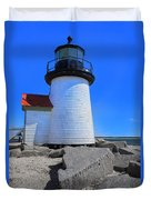 Nantucket Lighthouse Y1 Duvet Cover