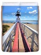 Nantucket Lighthouse - Y2 Duvet Cover