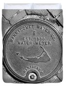 Nantucket Water Meter Cover Duvet Cover