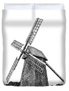 Nantucket Windmill Number One Duvet Cover
