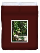 Napa Rose Pathway Duvet Cover