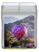 Napa Valley Morning Balloon Duvet Cover