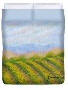 Valley Vineyard Duvet Cover
