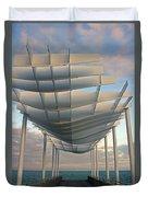 Napier Pier 2016 Duvet Cover