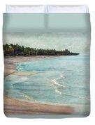 Naples Beach Duvet Cover