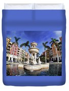 Naples Florida Iv Duvet Cover
