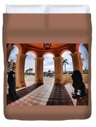 Naples Florida X Duvet Cover