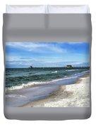 Naples Florida Xiv Duvet Cover
