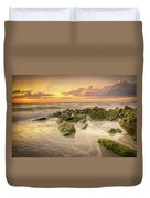 Naples Sunset Duvet Cover