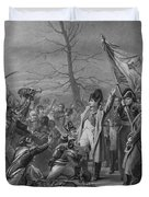 Napoleon Returns From Elba Duvet Cover