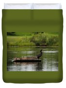 Naptime Lookout Duvet Cover