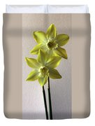 Narcissi Duvet Cover
