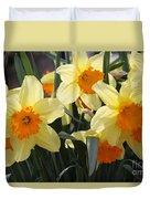 Narcissus Fortissimo Duvet Cover