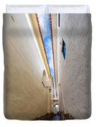 Narrow Alley In Cusco Duvet Cover