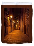 Narrow Alley  Duvet Cover