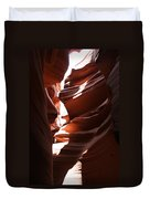 Narrow Canyon Ix Duvet Cover