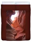 Narrow Canyon Xvii Duvet Cover