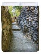 Narrow Mayan Road Duvet Cover