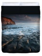 Nash Point South Wales Duvet Cover