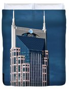 Nashville Landmarks Duvet Cover